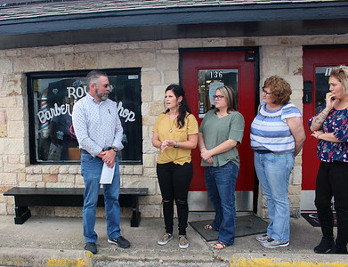 Roy's Barber and Style Shop Ribbon Cutting October 30, 2018