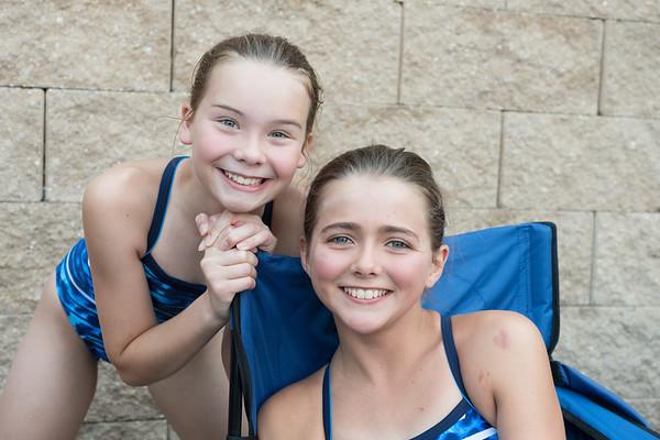 CV v Radley Run 2017 swim