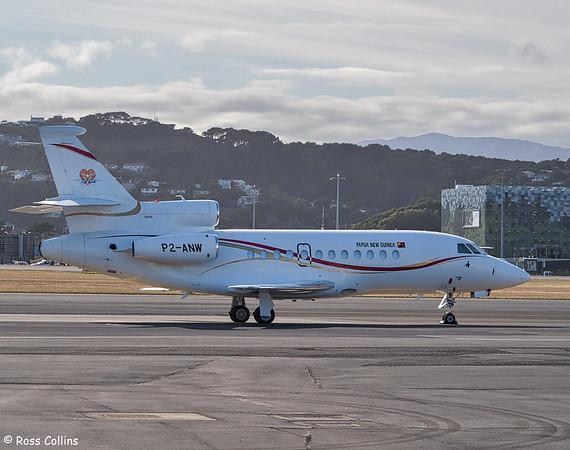 PNG Dassault Falcon 900EXE at Wellington 2020