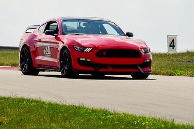 2020 SCCA TNiA June Pitt Race Adv Red Mustang