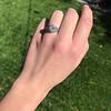1.11ct Old European Cut Diamond Filigree Ring 13