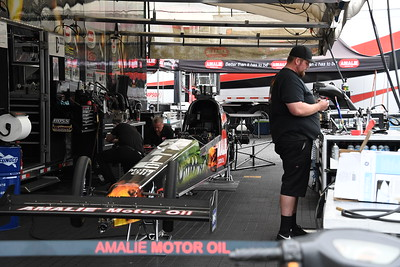 Summer Nationals Pits and Staging Lanes