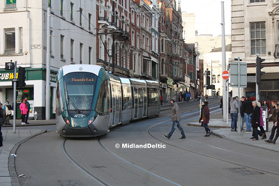 Nottingham Day Out (Tram), 16-01-2016