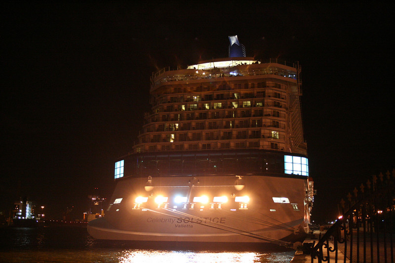 2009 - M/S CELEBRITY SOLSTICE : night in Alexandria.