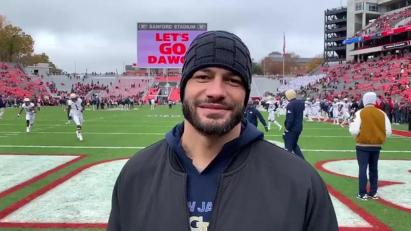 Roman Reigns - Nov. 24, 2018 / Georgia Tech Football Game