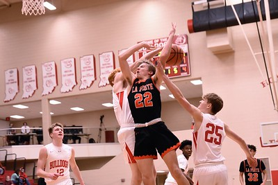 BOYS BASKETBALL La Porte VS Crown Point  2021