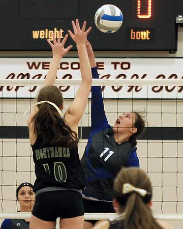 7A Volleyball Semifinal South Ridge vs. Northeast Range