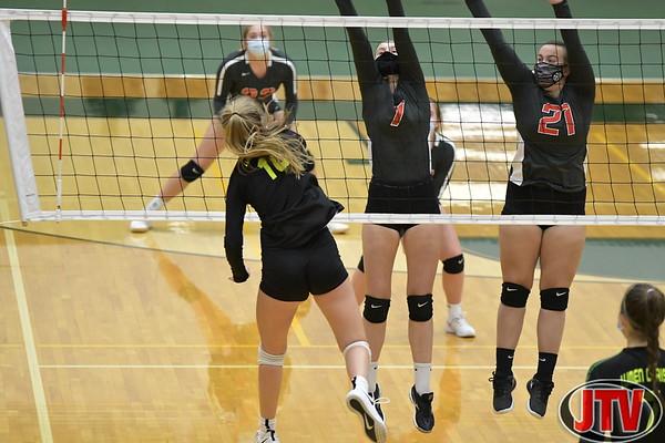 Div 3 Volleyball Michigan Center vs Lumen Christi 11-2-20