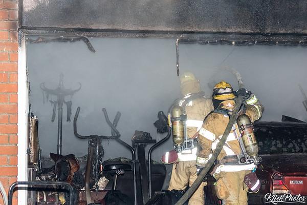 Santa Ana House Fire - March 11th, 2017