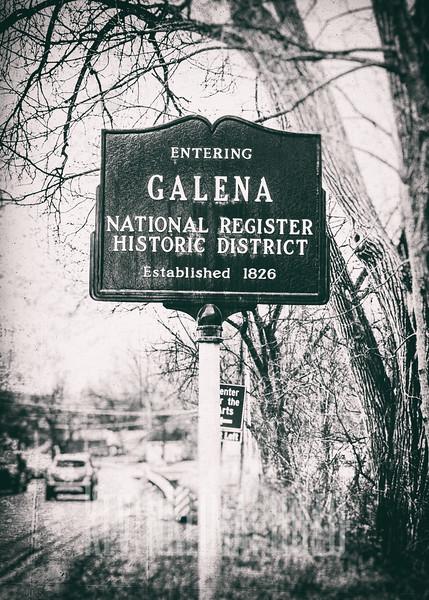 Entering Galena