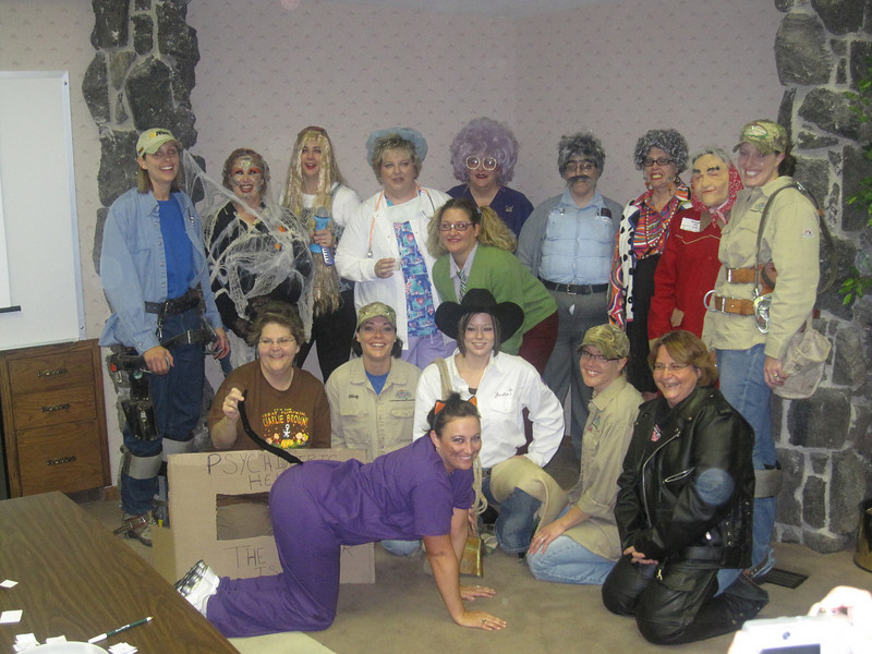 Halloween fun at the Dodge City office