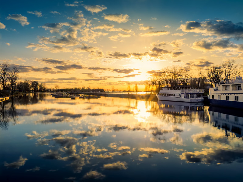 HDR Photography - Canada. Montreal. Lachine
