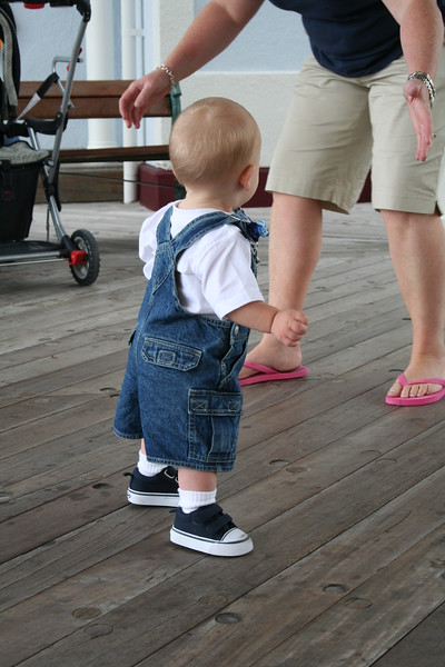 Tyler's first Steps!!!