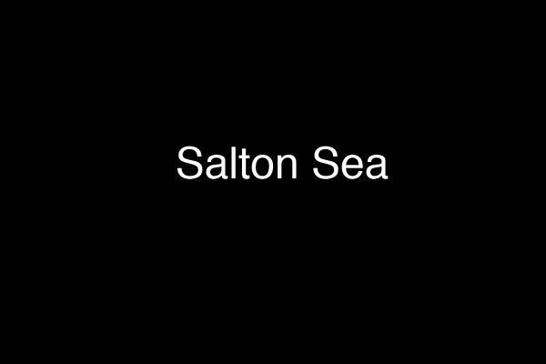 Movie-Salton Sea