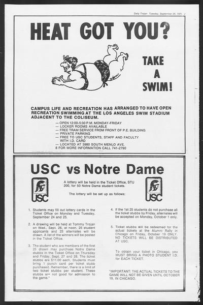 Daily Trojan, Vol. 87, No. 7, September 25, 1979