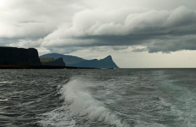 Horft að Hornbjargi