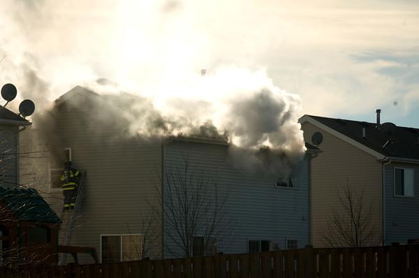 Rutland Residential Fire in Gilberts - Jan 05, 2012