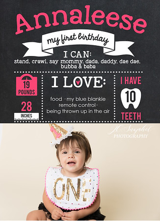 Annaleese Turns 1!