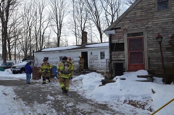 Franklin Chimney fire 2-17-13