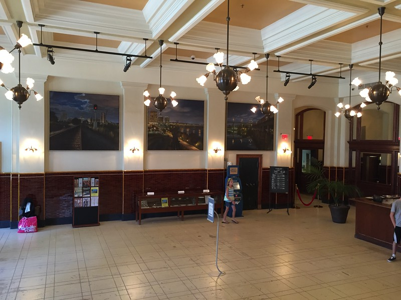 Richmond train station.