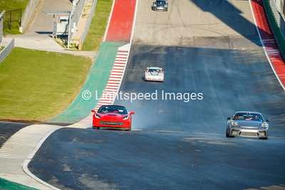 #7 Red Corvette