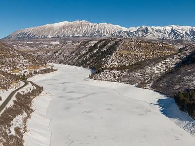 Paonia Reservoir December 2020