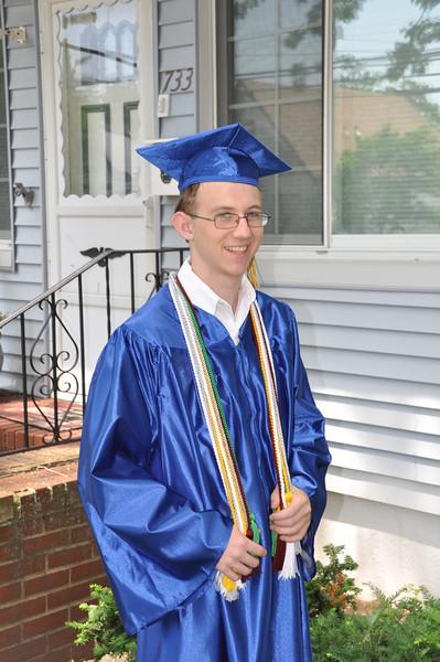 Robert Graduation Ceremony