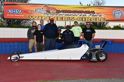 Junior Dragster Winners Circle
