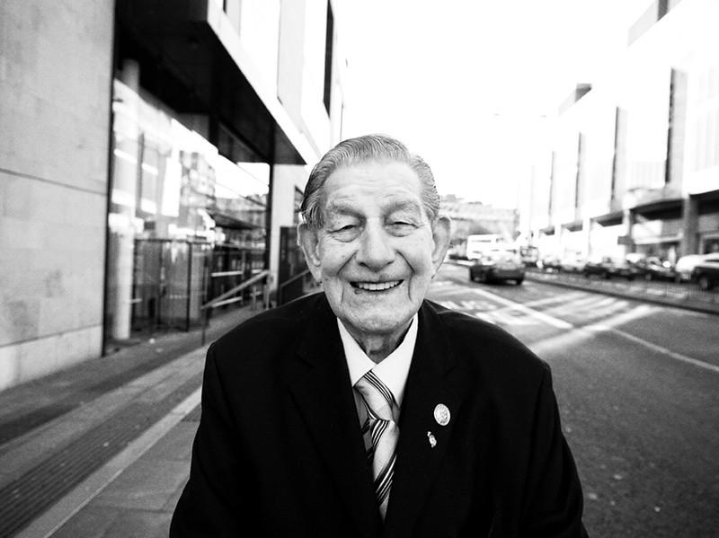 Old Soldier - Edinburgh - Street Portrait