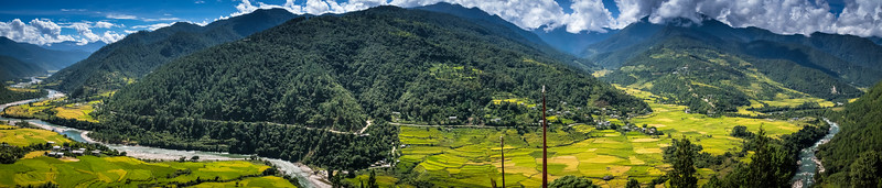From Khamsum Yurleng Chorten, Punakha Valley