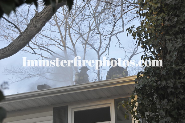 East Meadow FD Newman Ct House fire 1-18-12