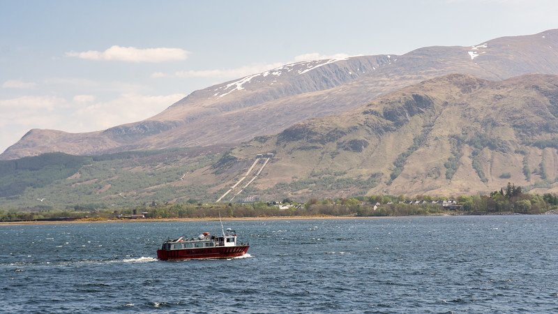 Camusnagaul Ferry and Ben Nevis