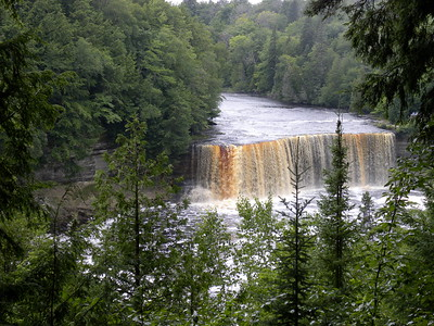 Michigan - Tahquamenon Falls, Grand Hotel, Mackinac Bridge