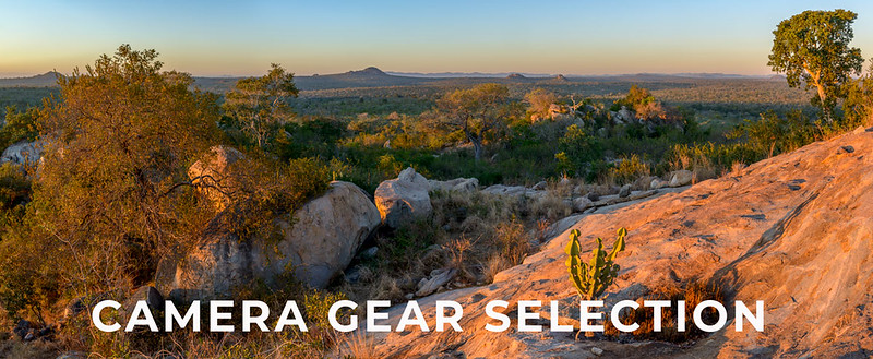 Wildlife, Conservation and Travel Camera Gear Selection