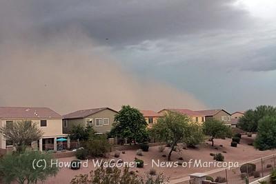 Dust Storm 8-25-2015