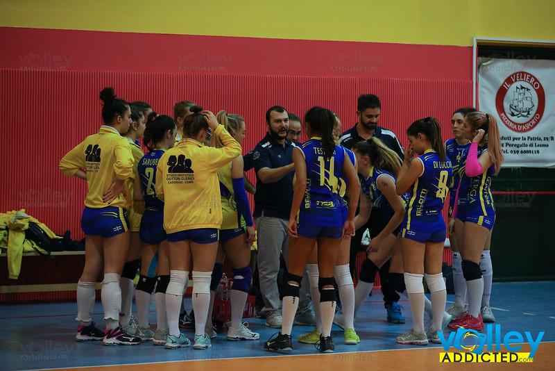 Serie D Femminile 2019/20 Lombardia - 5^ Giornata Dream Volley Lesmo 0 - Virtus Cermenate 3 Lesmo (MI) - 16 novembre 2019