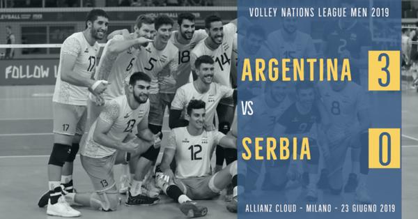 Argentina 3 - Serbia 0
