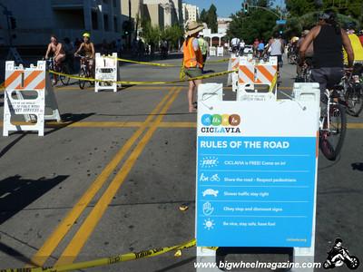 CicLAvia 2011 - Los Angeles, CA - October 9, 2011