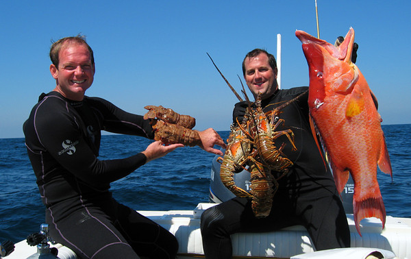 A NEWELL & BRIAN HOG & LOBSTER.jpg
