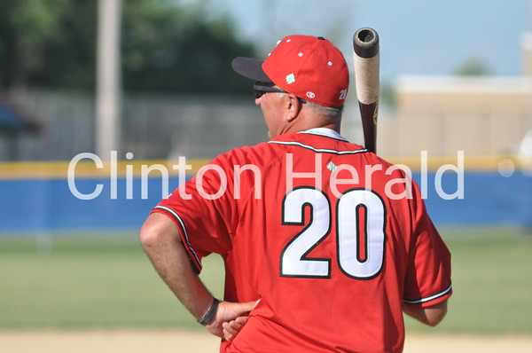 Clinton at Camanche baseball (7-8-14)