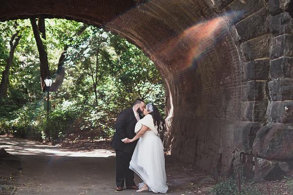 Central Park Wedding - James & Glenda