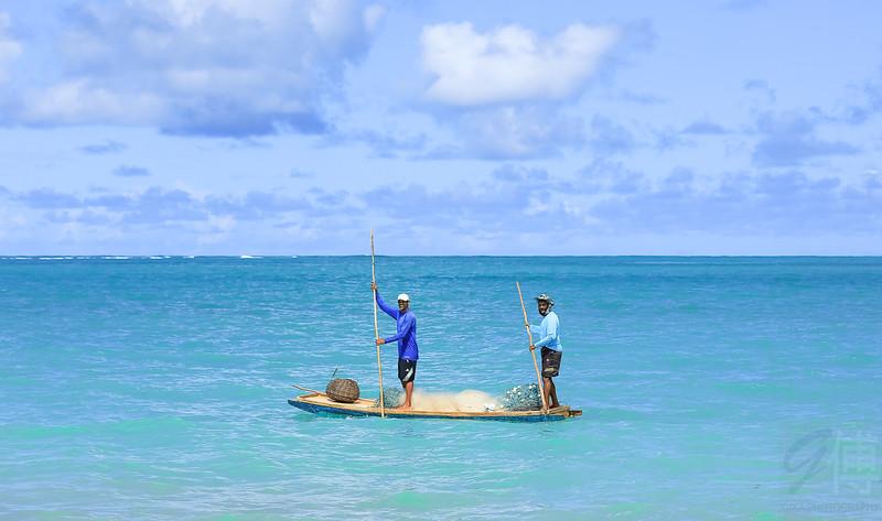 Fishermen at São Miguel dos Milagres, Alagoas - Brasil