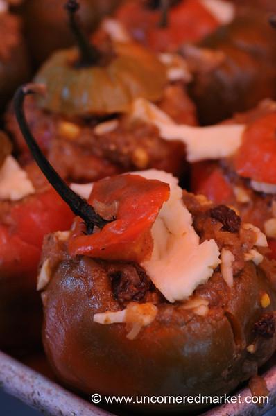 Up Close with a Rocoto Relleno - Mistura Gastronomy Festival in Lima, Peru