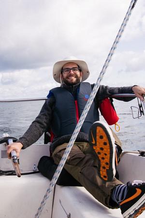 Sailing to Thompson Island, July '19
