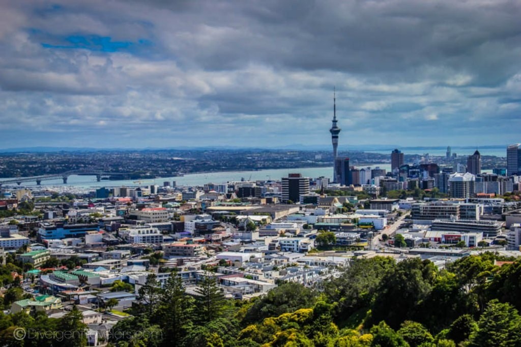 Auckland skyline - North Island New Zealand Itinerary