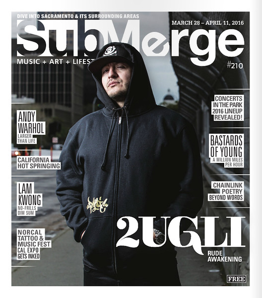 2UGLi - Submerge Magazine Cover, April 2016