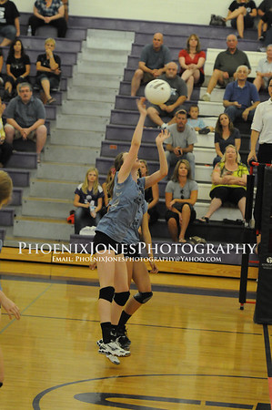 2012 Cactus JV Volleyball Game vs NCS  Pics 9-19-12
