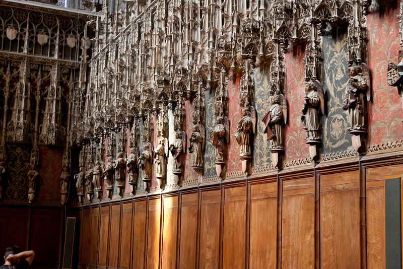 Albi Cathedral of Saint Cecilia Choir Angels