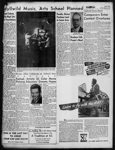 Daily Trojan, Vol. 38, No. 141, May 23, 1947