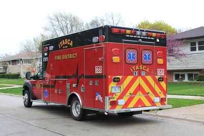 Wood Dale Fire Chief Tom Flanagan Retirement